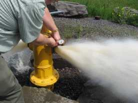pitot tube, hydrant test
