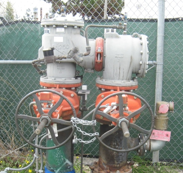 Backflow Preventers On Fire Protection Systems