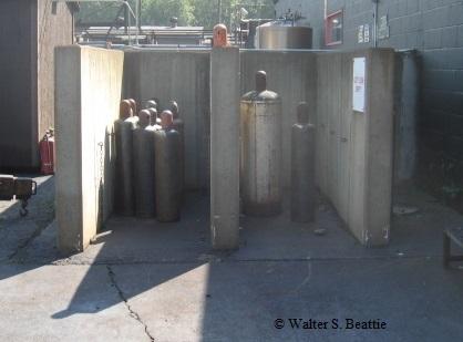 Storage Of Pressurized Gas Cylinders | WaltBeattie com